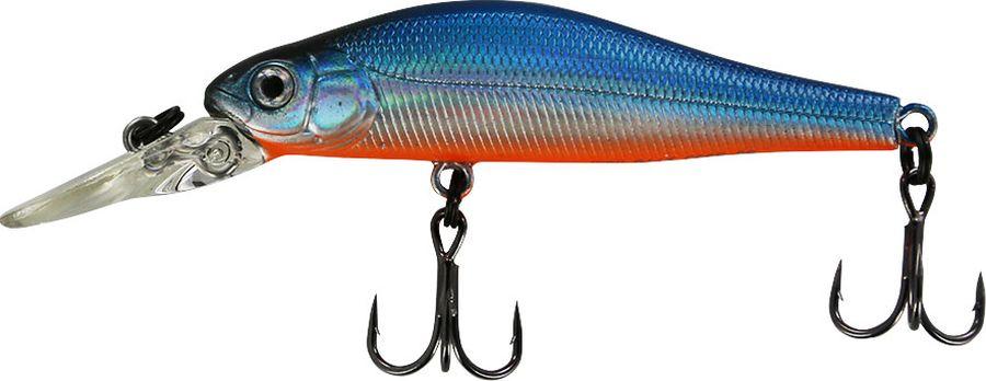 Воблер Tsuribito Jerkbait SP-DR, цвет: голубой (100), длина 50 мм, вес 3 г
