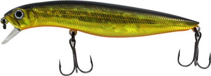 Воблер Tsuribito Dead Minnow SS, цвет: золотой, оранжевый (002), длина 70 мм, вес 7,5 г