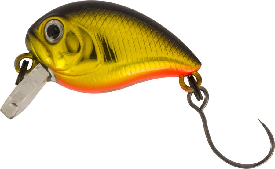 Воблер Tsuribito Baby Crank S-SR, цвет: желтый (513), длина 25 мм, вес 3,4 г