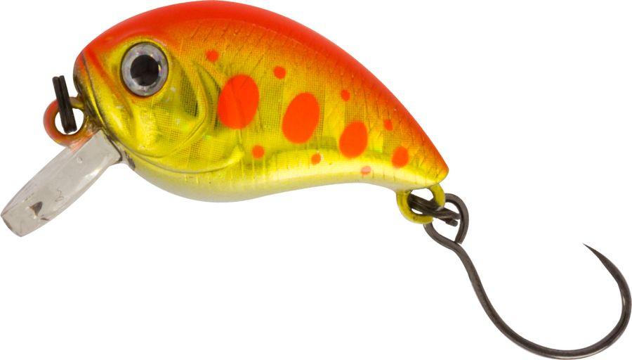 Воблер Tsuribito Baby Crank S-SR, цвет: желтый, красный (514), длина 25 мм, вес 3,4 г воблер tsuribito baby crank f sr цвет оранжевый 529 длина 25 мм вес 3 1 г