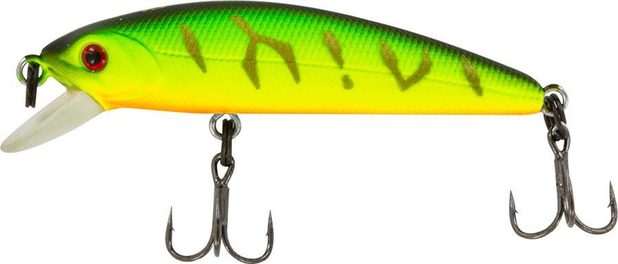 Воблер Tsuribito Minnow SS, цвет: зеленый (028), длина 50 мм, вес 4,5 г