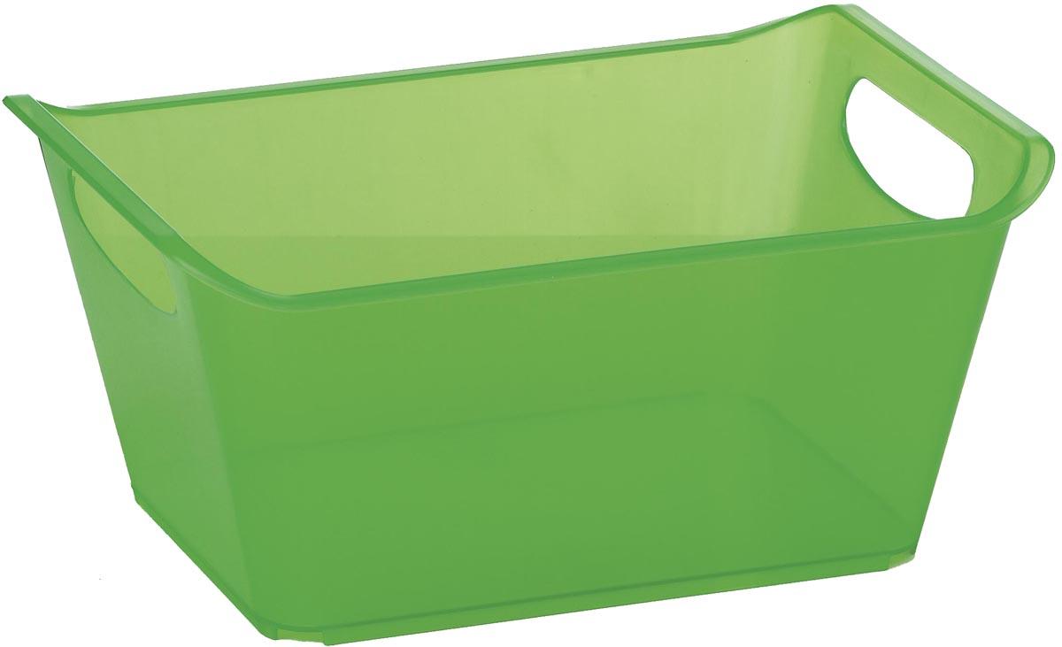 Контейнер Gensini, цвет: зеленый, 10 л контейнер gensini цвет сиреневый 10 л