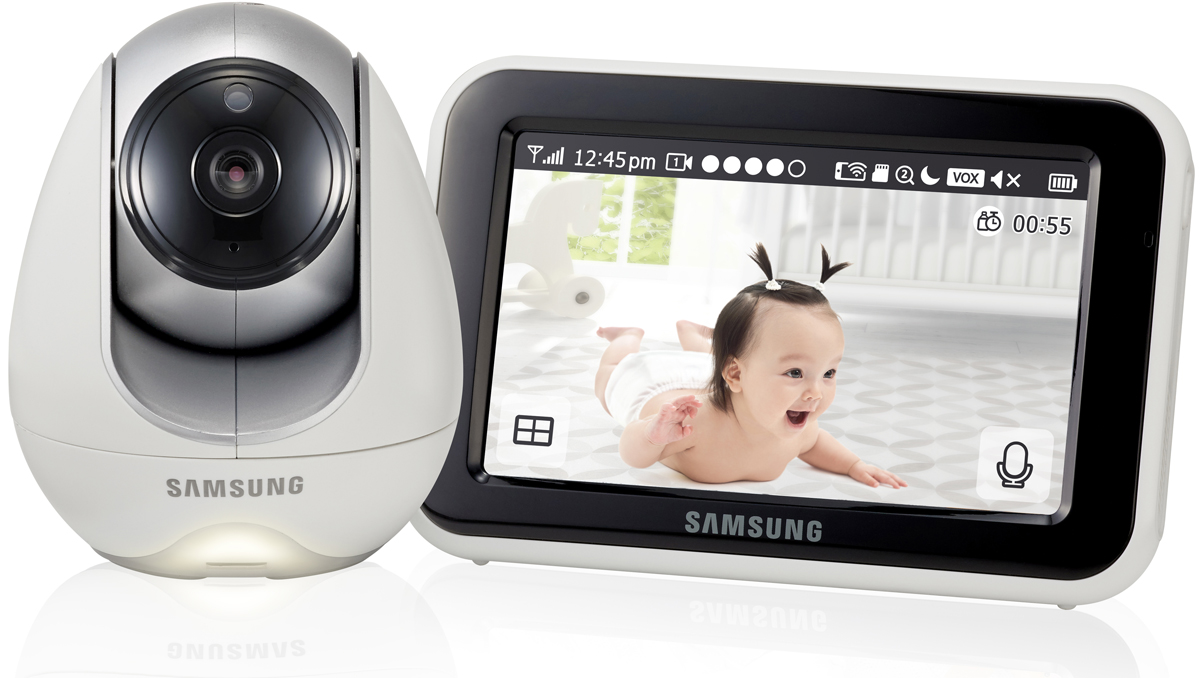 Samsung Видеоняня SEW-3053WP цвет белый lcd samsung