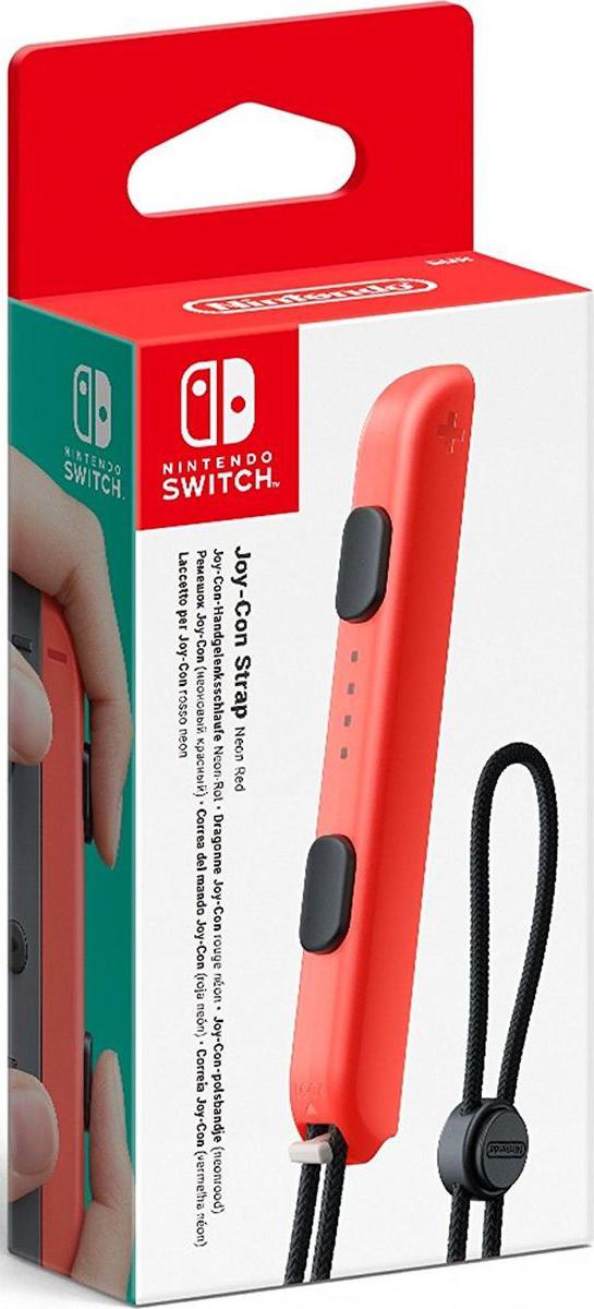 цена на Nintendo ACSWT11, Red ремешок Joy-Con