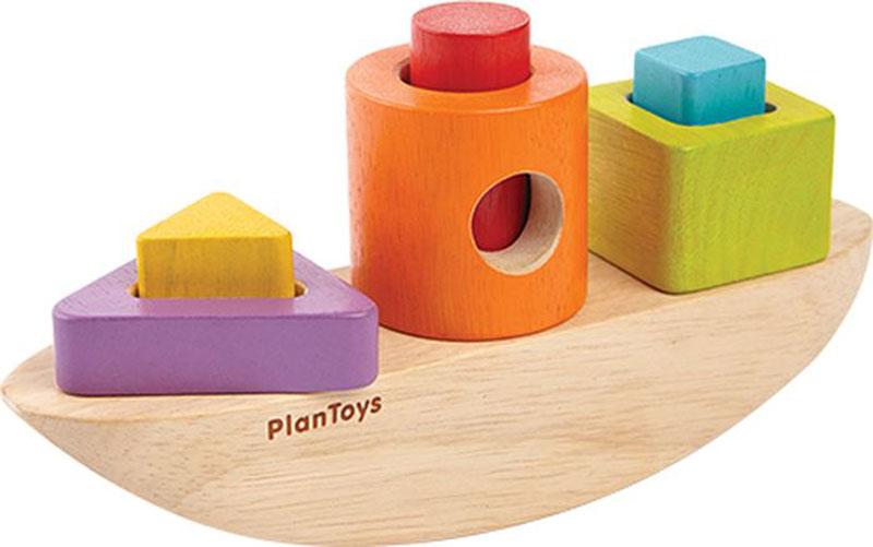 Plan Toys Сортер Лодка