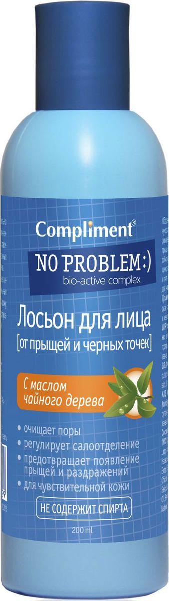 Compliment No ProblemЛосьон от прыщей с маслом чайного дерева, 200 мл Compliment
