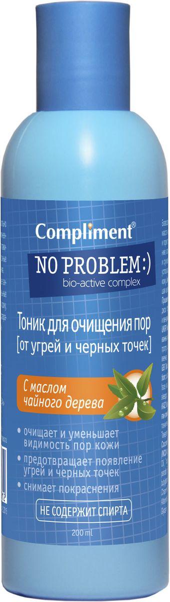 Compliment No Problem Тоник для очищения пор с маслом чайного дерева, 200 мл