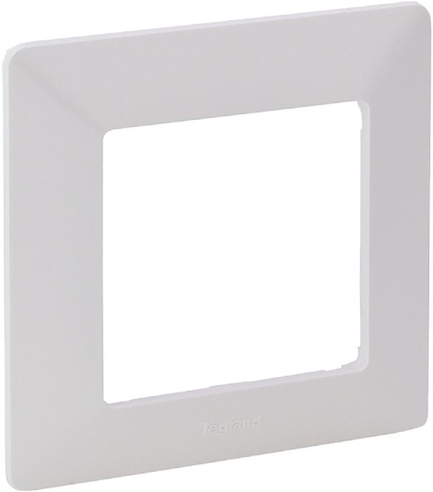 Рамка электроустановочная Legrand Valena Life, цвет: белый, на 1 пост рамка для розеток и выключателей горизонтальная 1 пост цвет бежевый