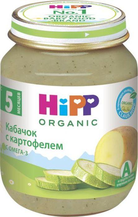 Hipp пюре кабачок с картофелем, 5 месяцев, 125 г