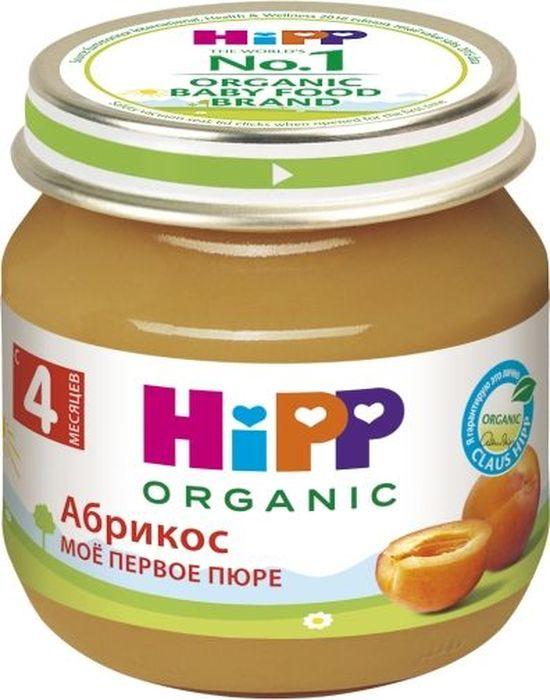 Hippпюре абрикосы, мое первое пюре, с 4 месяцев, 80 г Hipp