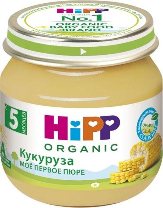 Hipp пюре кукуруза, мое первое пюре, с 5 месяцев, 80 г