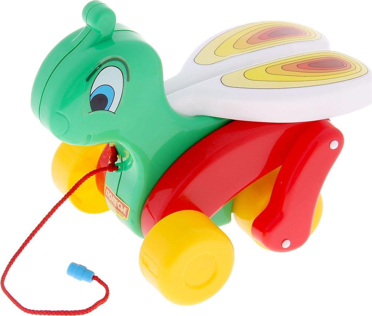 Полесье Каталка Сверчок, цвет в ассортименте каталка игрушка полесье биосфера бурундук 54449