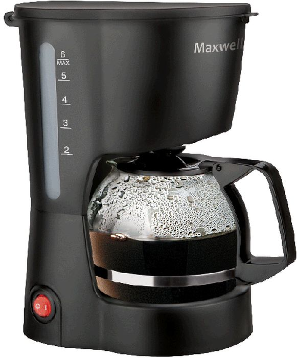 Кофеварка капельная Maxwell MW-1657(BK), Black Maxwell