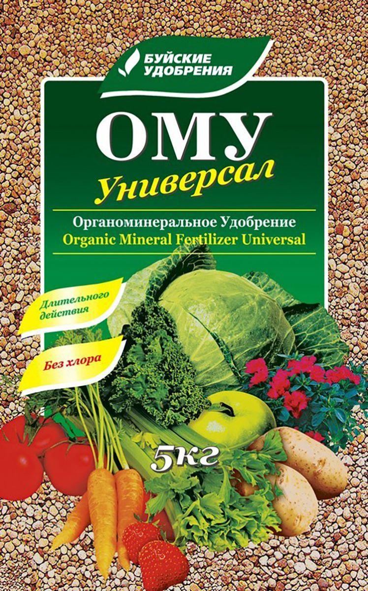 Удобрение Буйские Удобрения Универсал, органоминеральное, универсальное, 5 кг удобрение росому осеннее органоминеральное универсальное 5 кг