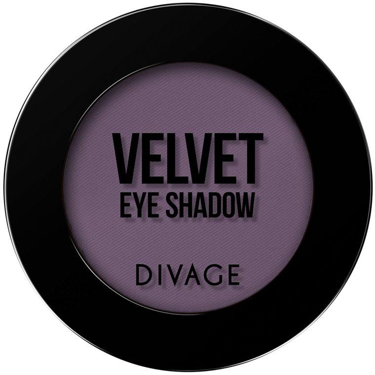 Divage Тени для век Velvet, Тон №7317