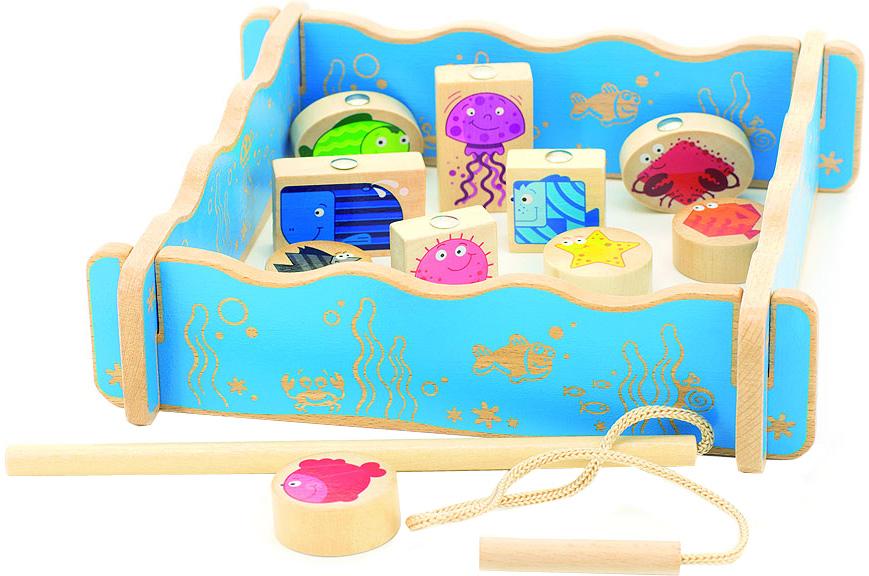 Мир деревянных игрушек Игровой набор Рыбалка набор для развития моторики мир деревянных игрушек д189