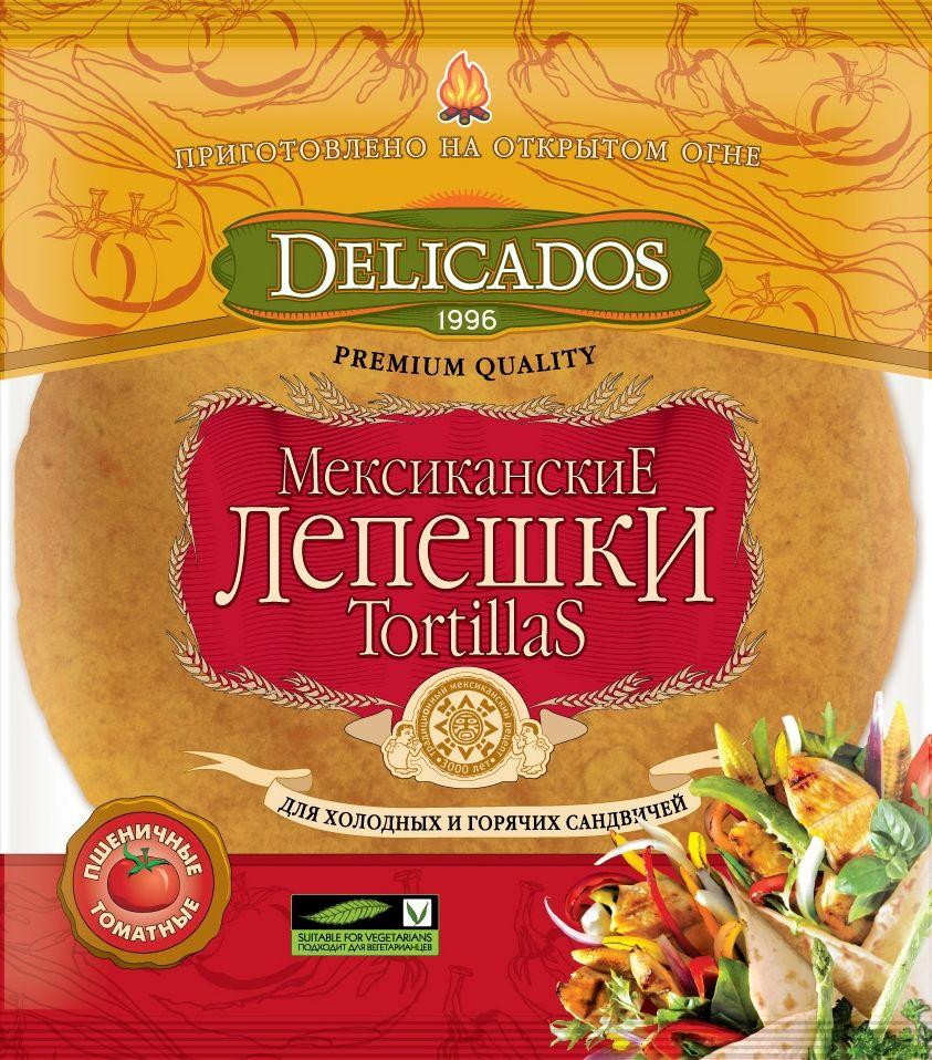 Delicados лепешки томатные, 400 г