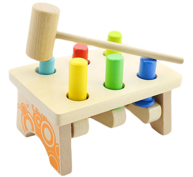 Мир деревянных игрушек Развивающая игрушка Гвозди-перевертыши 2