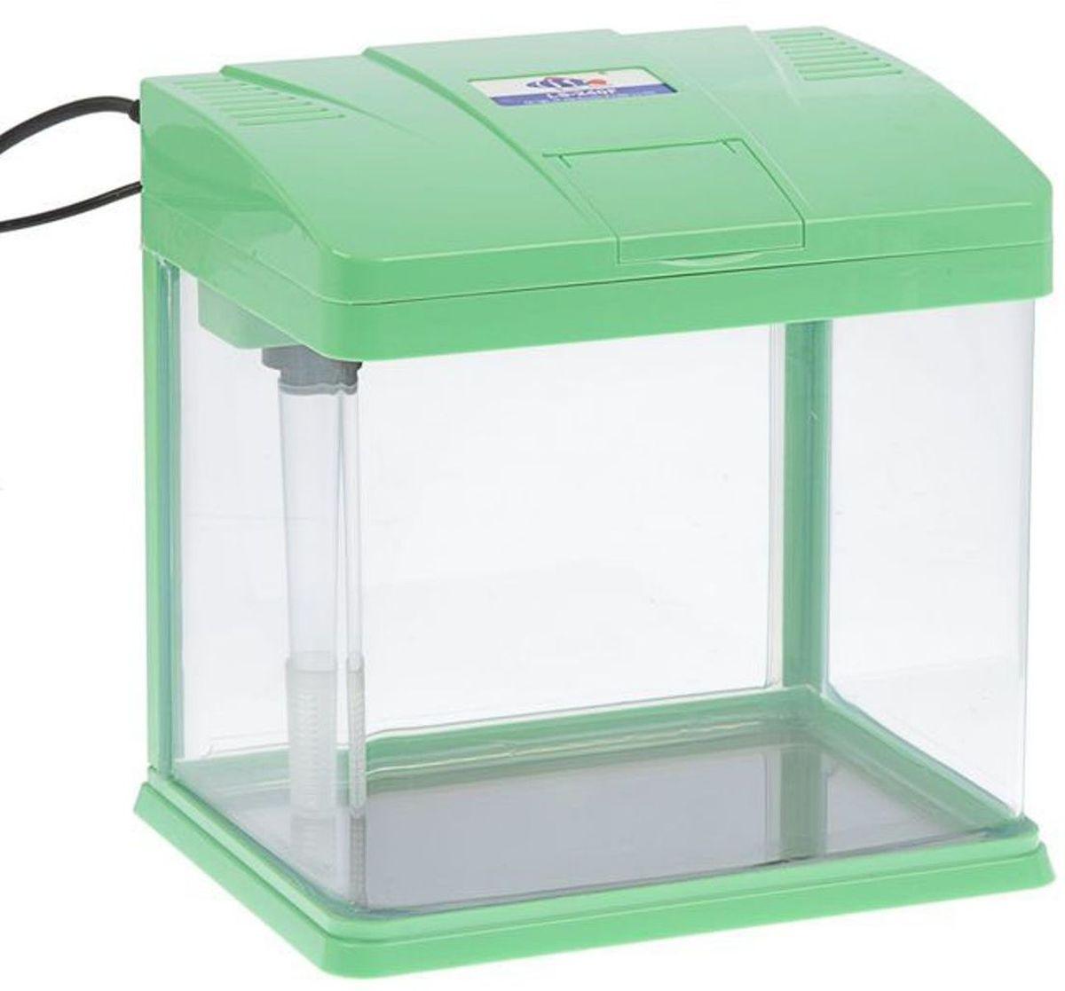 Аквариум Sea Star LS-240, цвет: зеленый, 10 л фильтр sea star каскад hx 004 1101293