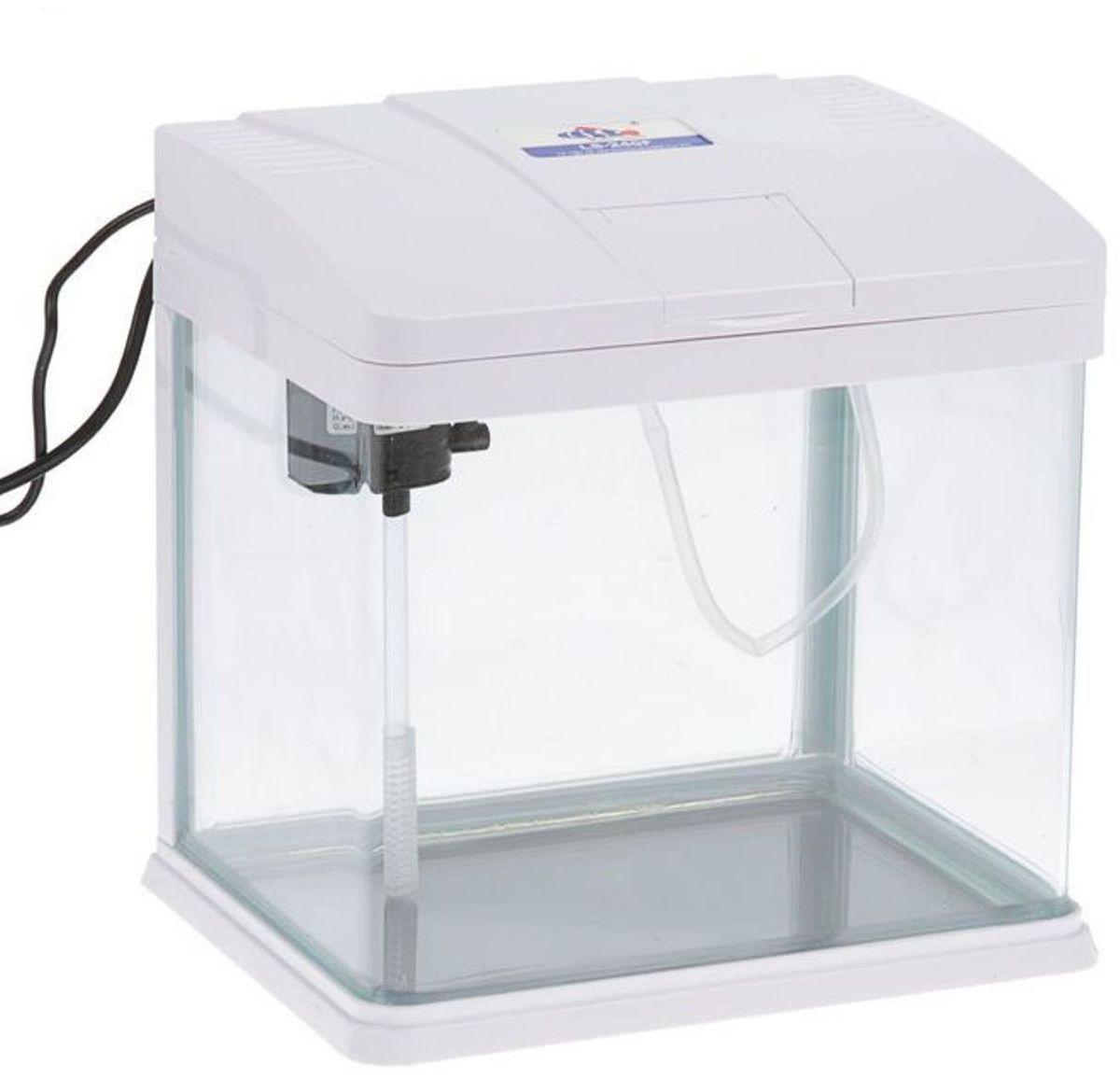 Фото - Аквариум Sea Star LS-240, цвет: белый, 8 л. LS-240F аквариум prime детский белый полный комплект с оборудованием и декорациями15л
