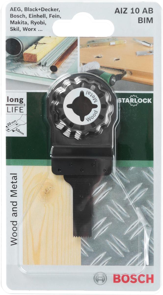 Пильное полотно по дереву Bosch HCS, для PMF 180, 30х10 мм пильное полотно по дереву bosch hcs для pmf 180 30х10 мм