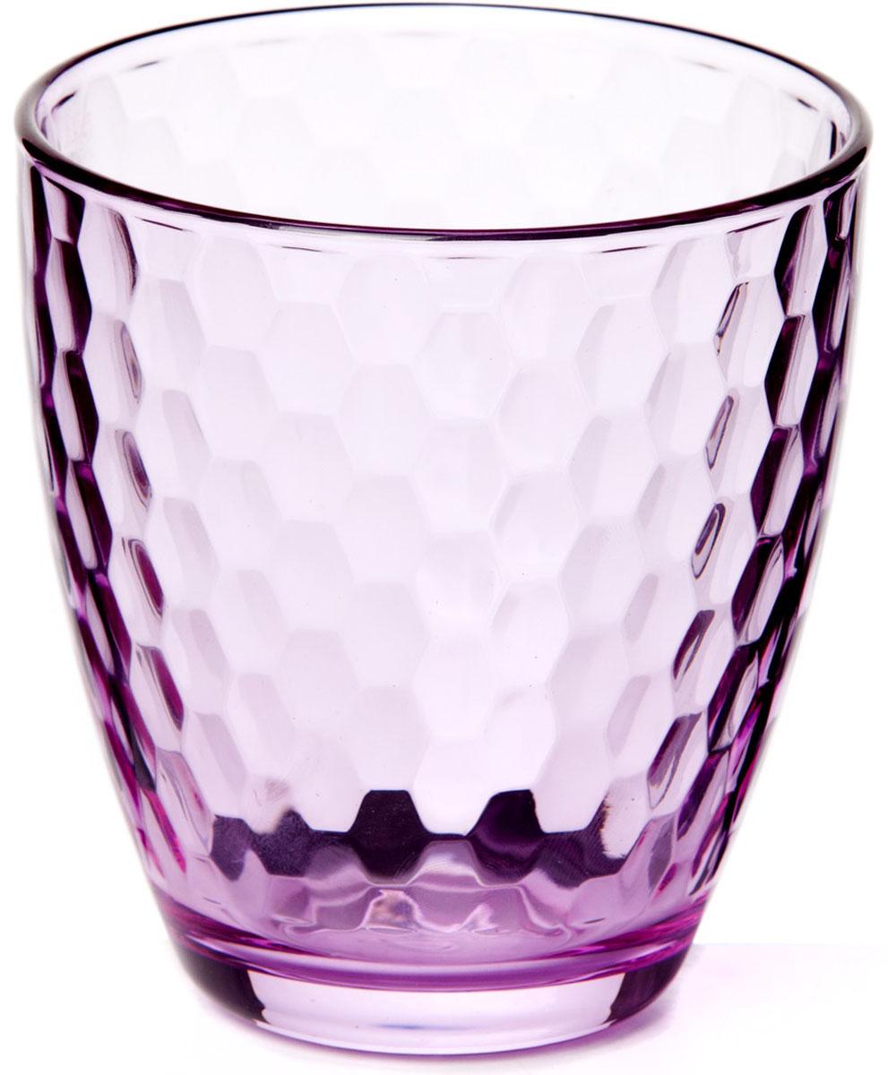 Стакан Pasabahce Энжой Лофт, цвет: розовый, 280 мл стакан pasabahce энжой блю 355 мл 52708slbd2