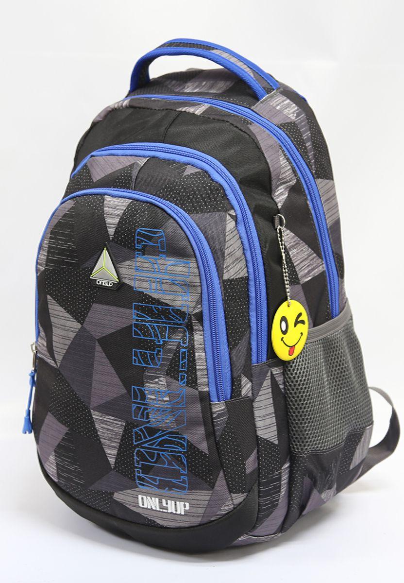 все цены на Рюкзак детский UFO People, цвет: синий, черный. 7631 онлайн