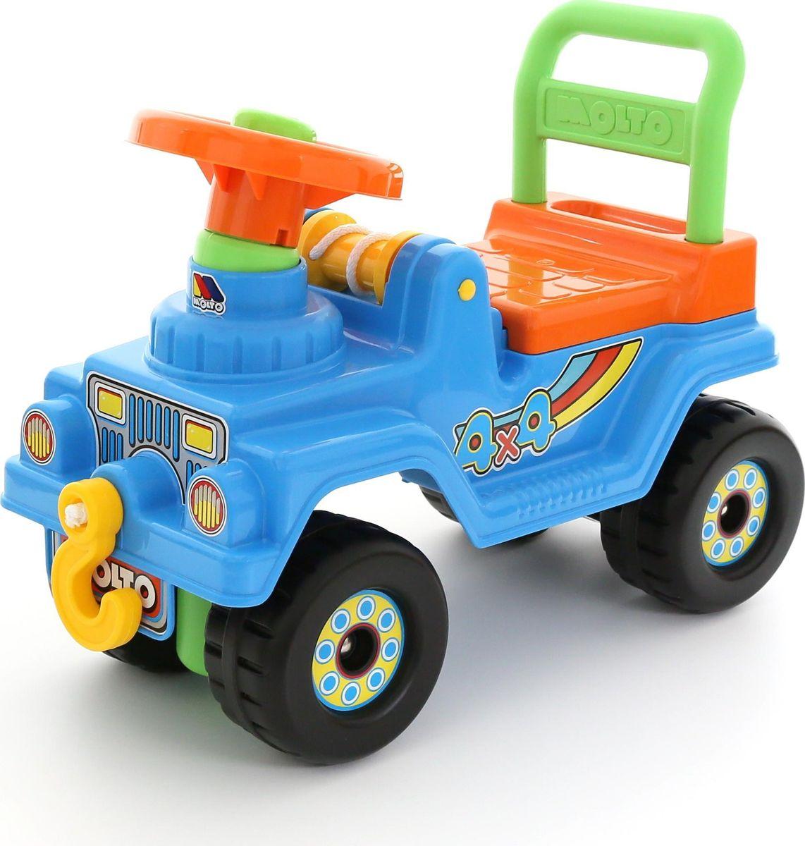 Полесье Автомобиль-каталка Джип 4х4 №2 цвет в ассортименте