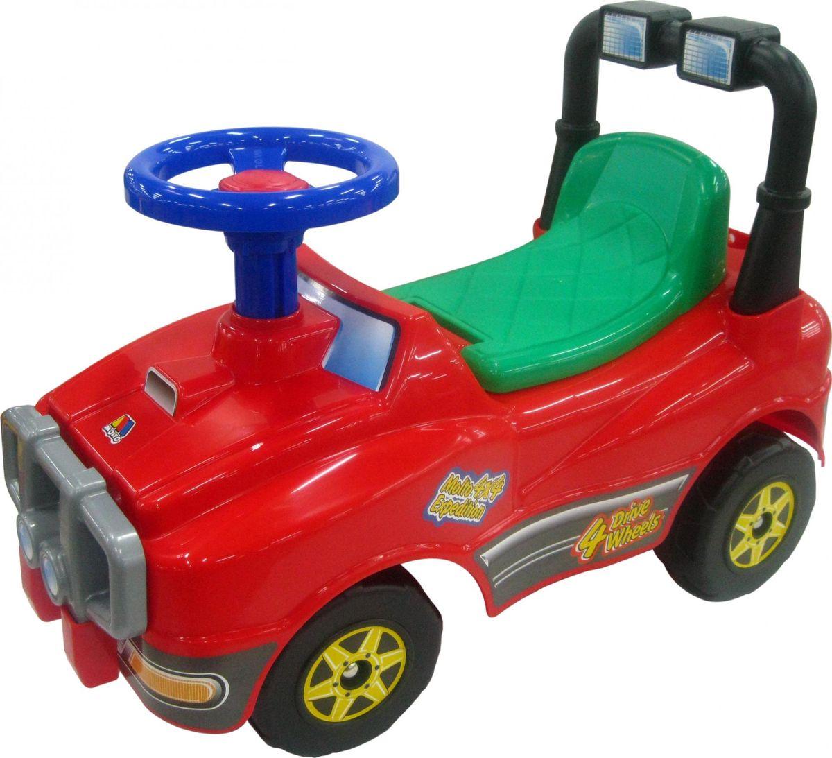 Полесье Каталка Джип №2 цвет в ассортименте автомобиль каталка полесье премиум 2 67142 цвет в ассортименте