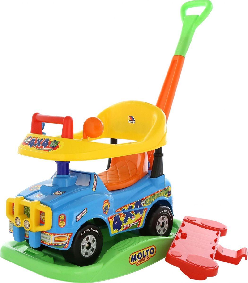 Полесье Автомобиль-каталка Джип Викинг цвет в ассортименте