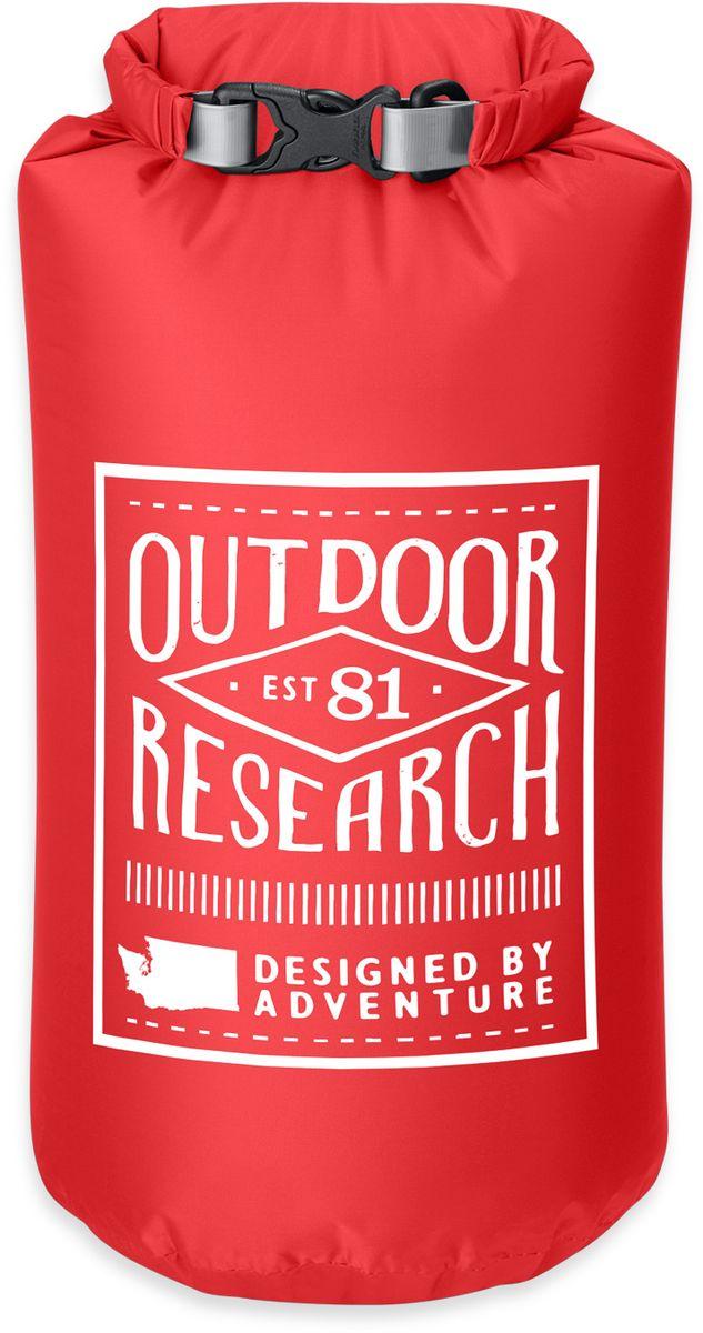 Гермомешок Outdoor Research Retro, цвет: красный, 5 л