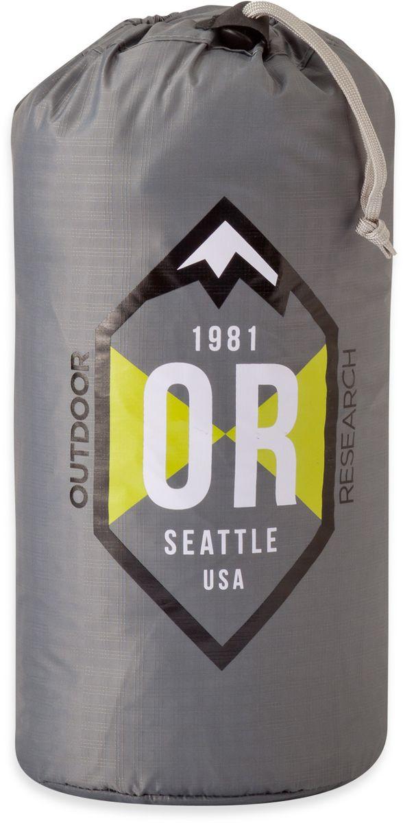 Мешок влагозащитный Outdoor Research Badge Stuff Sack, цвет: серый, 5 л