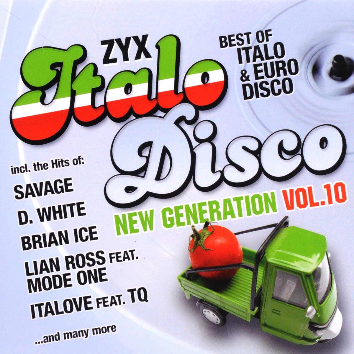 Лиан Росс,Райан Пари,Брайен Айс,Mirko Hirsch,Laserdance,Italove,Cristina Manzano,Steve Burbon,Peter Wilson,Digitalo Italo Disco New Generation Vol. 10 (2 CD) peter lamborn wilson false documents