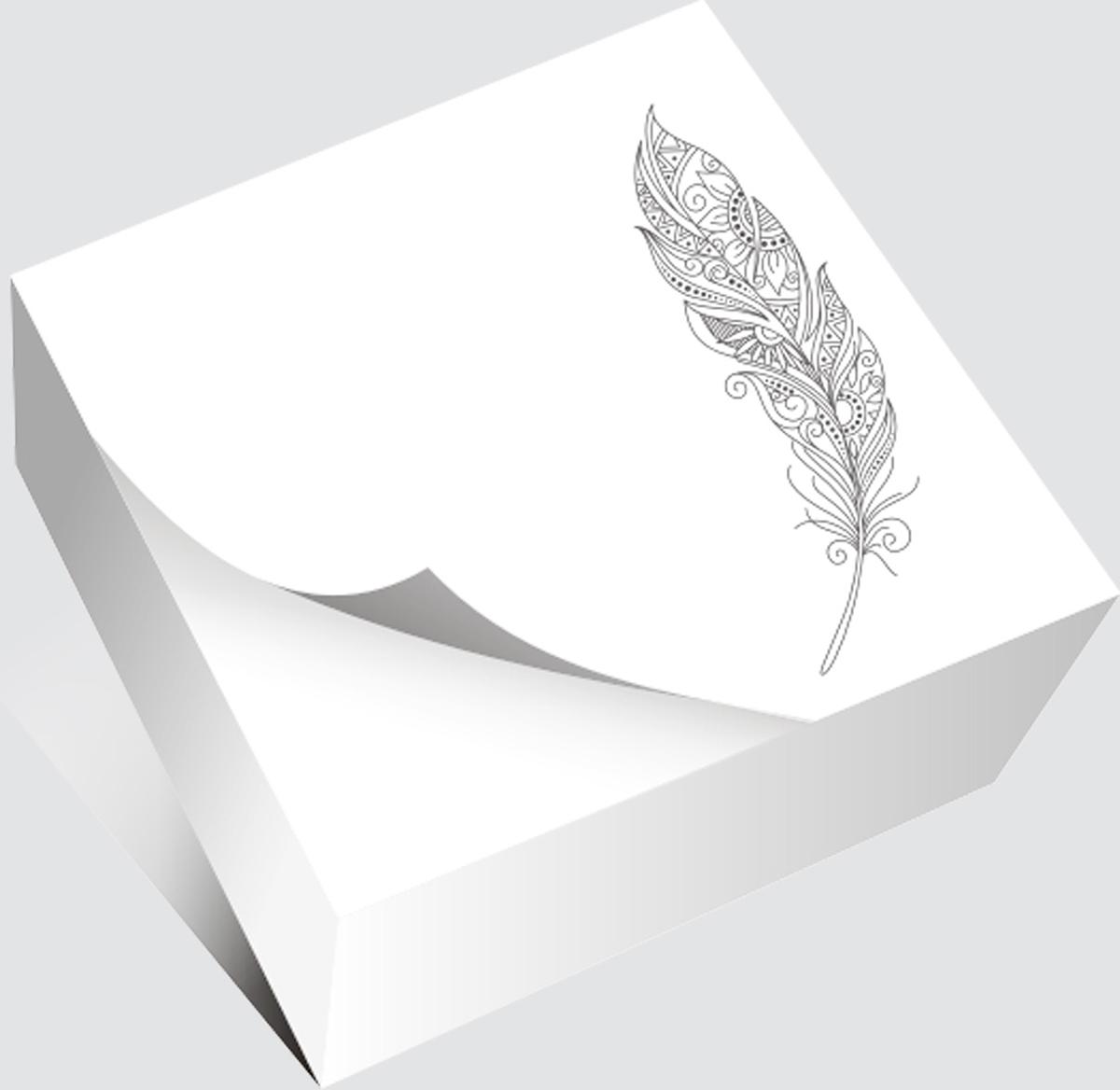 Фолиант Блок для записей Антистресс Перо 13 х 13 см 200 листов цена в Москве и Питере