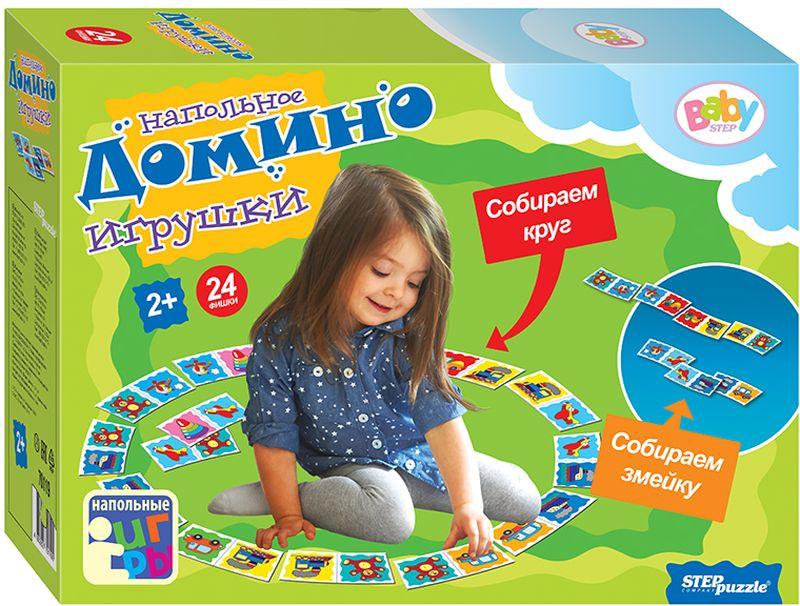 Step Puzzle Домино Игрушки развивающие игрушки step puzzle кубики для самых маленьких серия 2 27741
