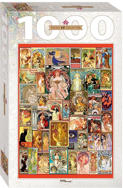 цены на Step Puzzle Пазл Art Nouveau 1000 элементов  в интернет-магазинах