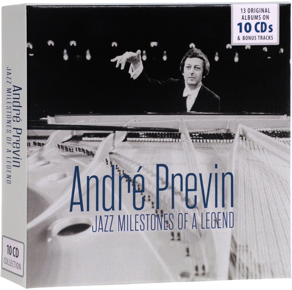Дорис Дэй,Андрэ Превен,Джей Джонсон Jazz Milestones Of A Legend. Andre Previn (10 CD) andre previn page 7