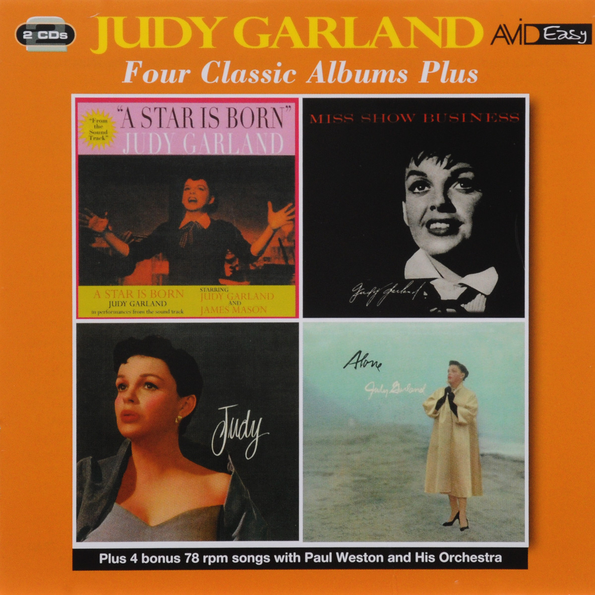 Джуди Гарланд Judy Garland. Four Classic Albums (2 CD) уинтон келли avid jazz wynton kelly four classic albums 2 cd