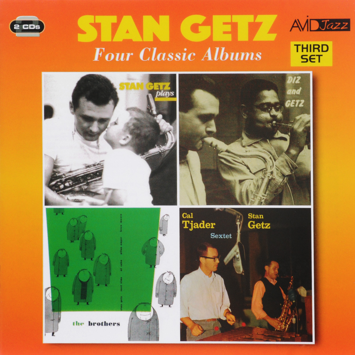 Стэн Гетц Stan Getz. Four Classic Albums (2 CD) цена и фото