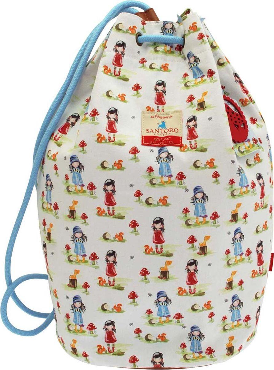 Santoro Сумка детская Pastel Print Toadstools сумка для девочки santoro toadstools цвет синий 0012417