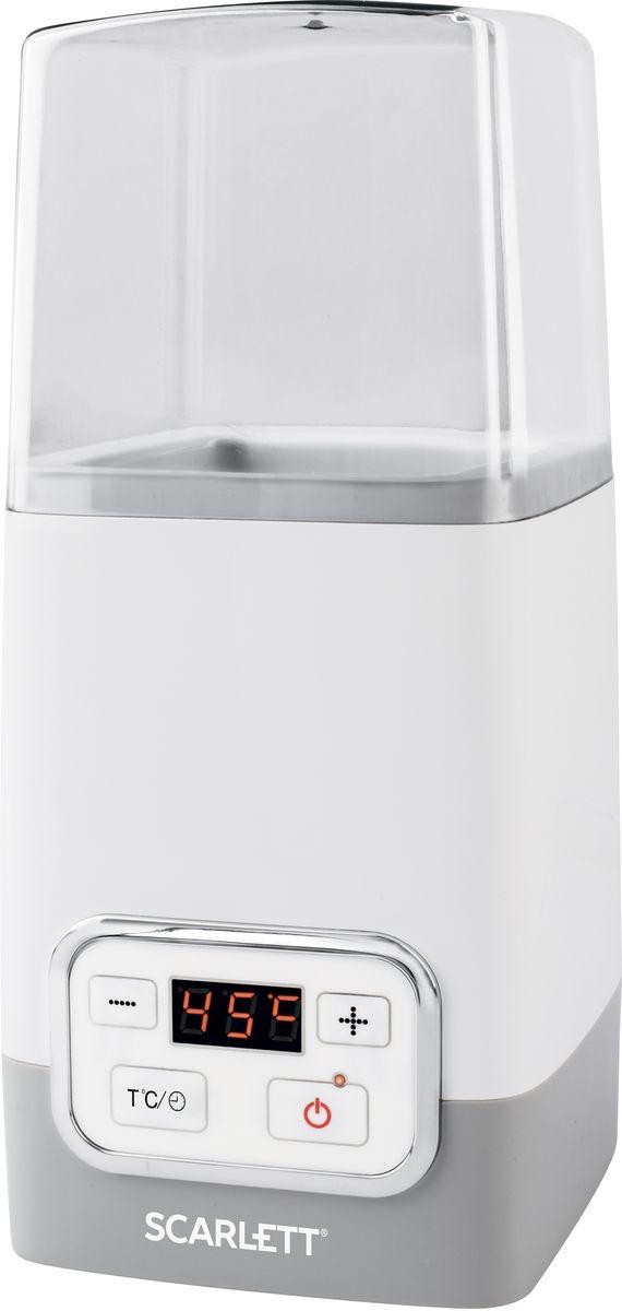 Йогуртница Scarlett SC-YM141P01, White Grey
