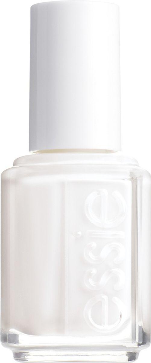 Essie Лак для ногтей, оттенок 01 Белый, 13,5 мл essie лак для ногтей оттенок 104 carry on 13 5 мл