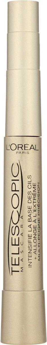 """L'Oreal Paris Тушь для ресниц """"Телескопик"""", для удлинения и разделения, черная, 8 мл"""