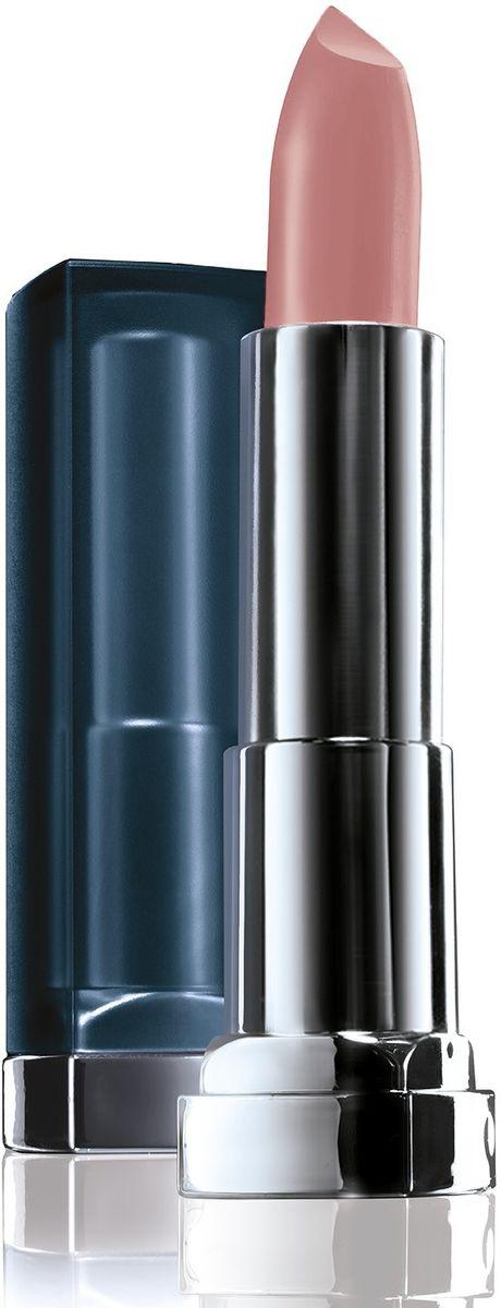 цена на Maybelline New York Увлажняющая помада для губ Color Sensational Матовое Обнажение, Оттенок 987, Чайная Роза, 4,4 г