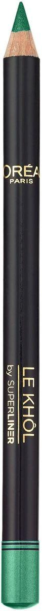 L'Oreal Paris Карандаш для глаз Color Riche Le Khol, оттенок 116, Темный Лес, стойкий, 4 г givenchy magic khol карандаш для глаз белый