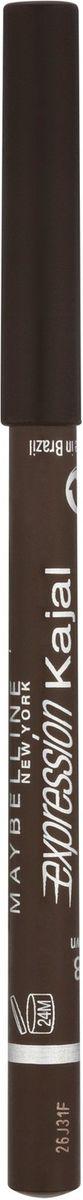 Maybelline New York Карандаш для глаз Expression Kajal, оттенок 38, коричневый,1,14 г карандаш для глаз maybelline new york maybelline new york ma010lwjla12