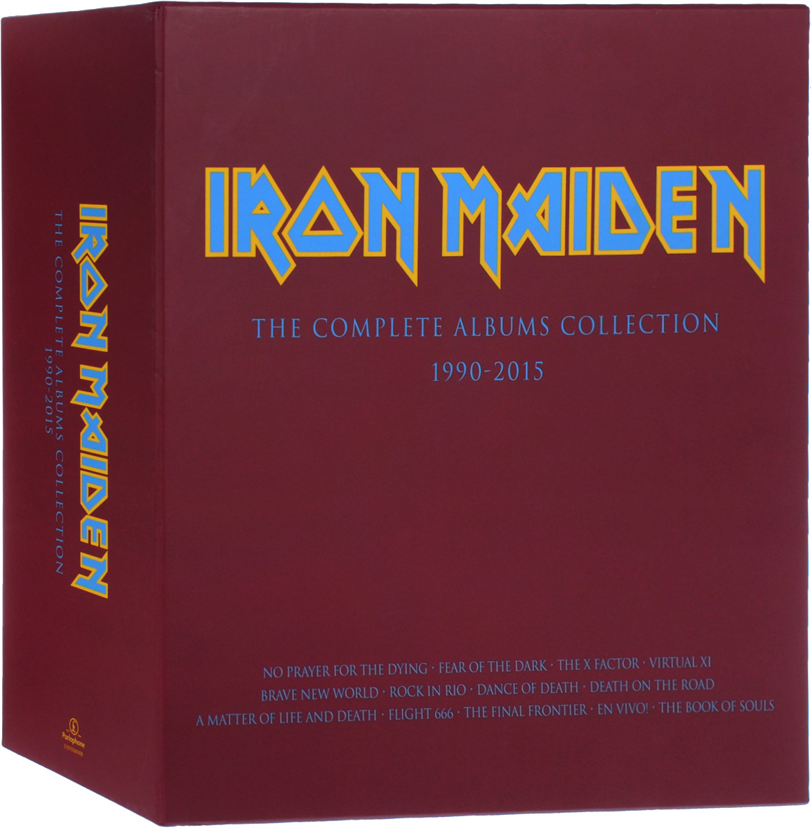 Iron Maiden Iron Maiden. The Complete Albums Collection 1990-2015 (3 LP) кендрик ламар kendrick lamar damn 2 lp