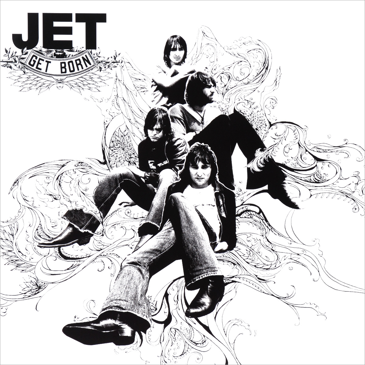 Jet Jet. Get Born (LP) jet jet get born