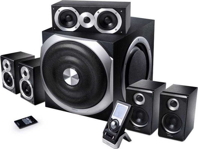 Компьютерная акустика Edifier S550 Encore, Black цена и фото