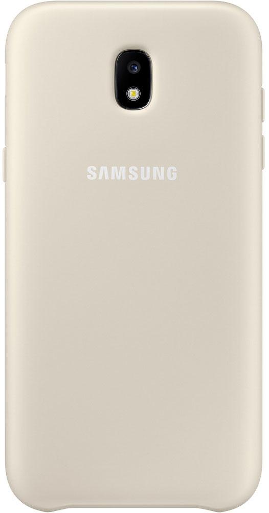 Samsung Dual Layer Cover чехол для Galaxy J5 (2017), Gold чехол samsung dual layer cover j5 2017 голубой